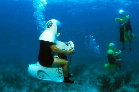 Il Bob Diving, facili immersioni in mare con lo scooter subacqueo