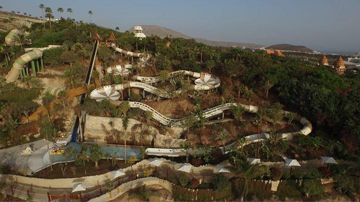 Shinga la nuova attrazione del parco acquatico Siam Park di Tenerife