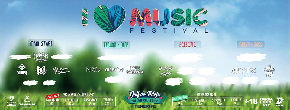 Programma e Ticket I Love Music Festival 2017