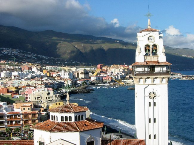 Vista su Candelaria, Tenerife, Canarie
